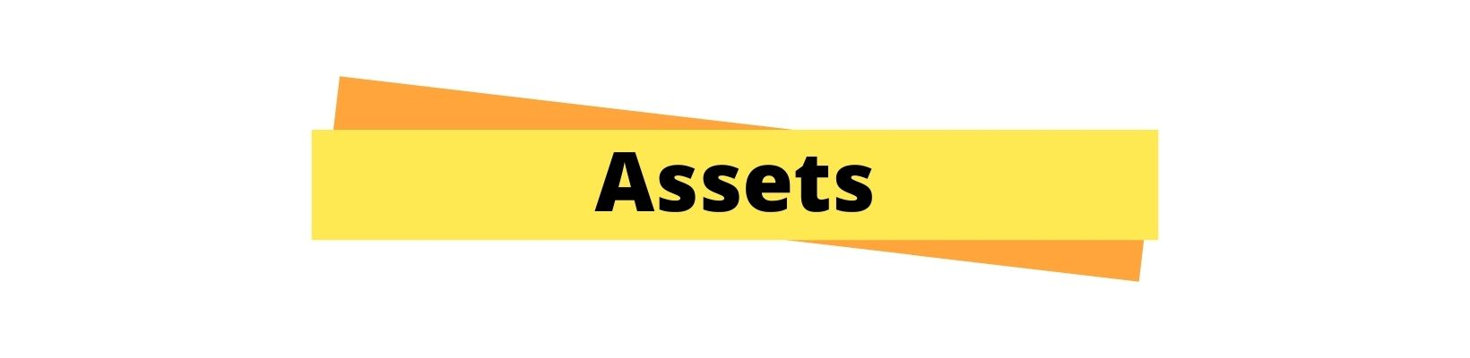 Assets in tally