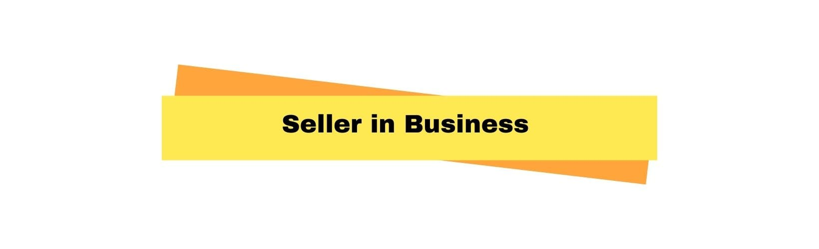 seller in business in important person